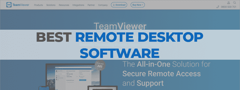 the best remote desktop software
