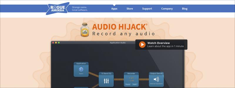 audio highjack