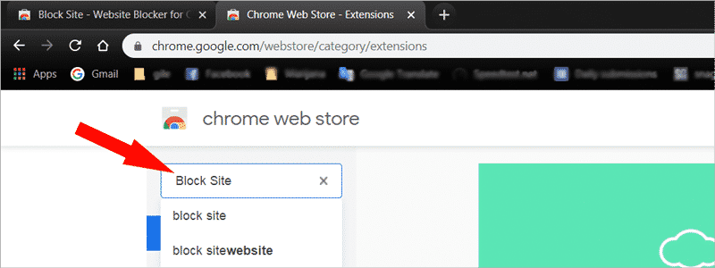 how to block websites on chrome 2a