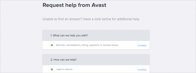 how to cancel avast subscription 9