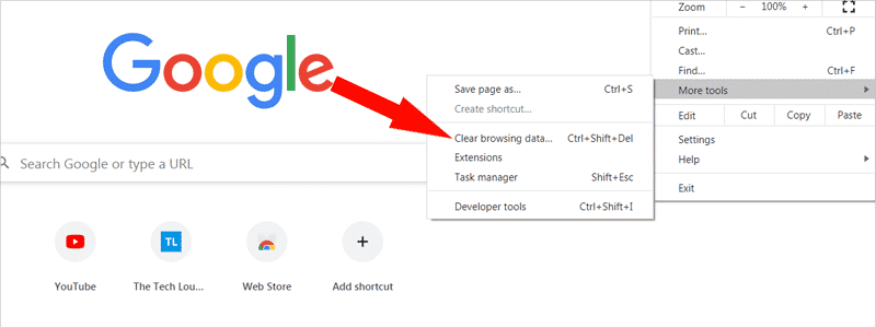 how to clear history on chrome 3