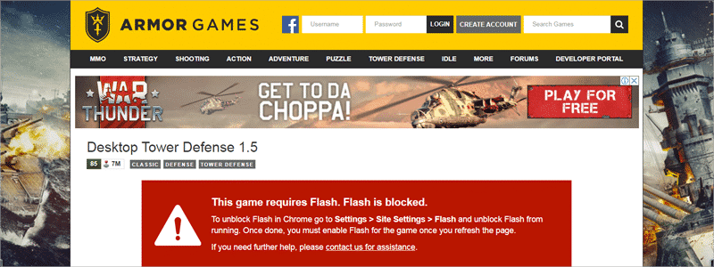 how to enable flash in chrome 1