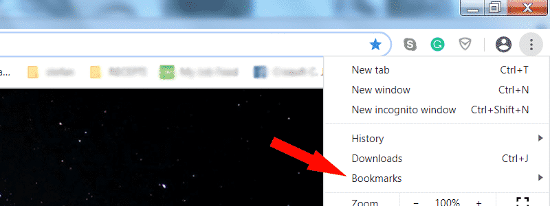 how to export chrome bookmarks 2
