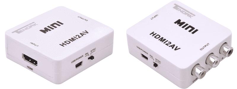 tendak 1080p hdmi to av 3rca cvbsconverter