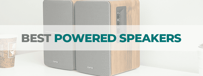 the best powered speakers