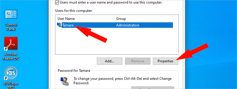how to change account name on windows 10 18
