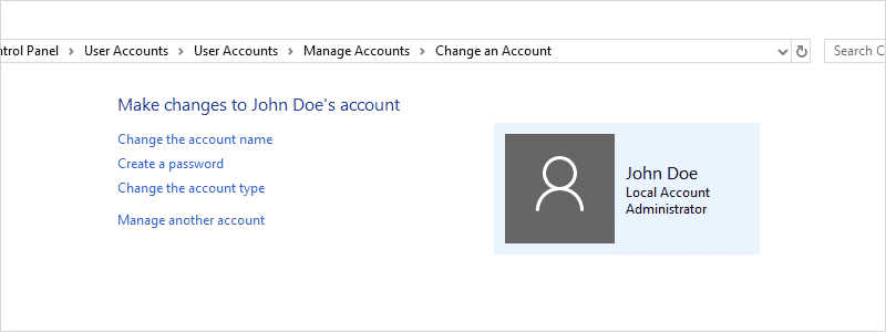 how to change account name on windows 10 27