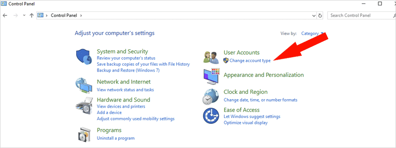 how to change account name on windows 10 3