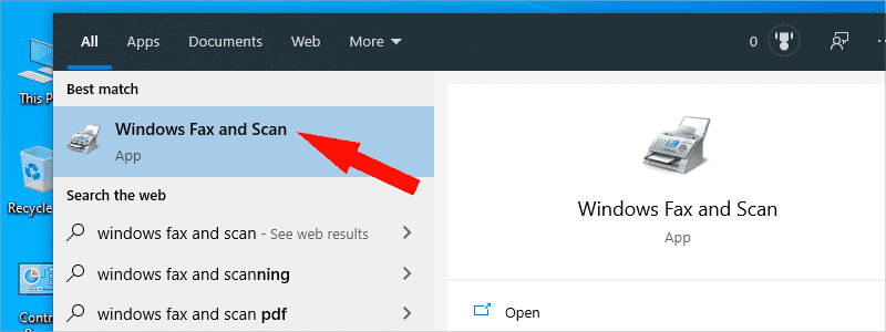 how to scan a document in windows 10 9