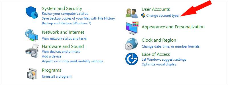 how to change administrator on windows 10 k