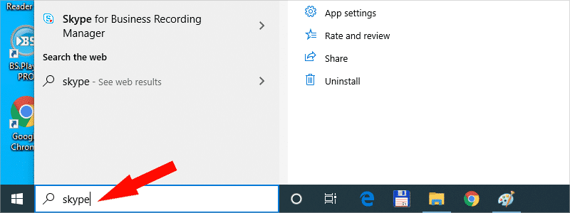 how to disable skype on windows 10 k