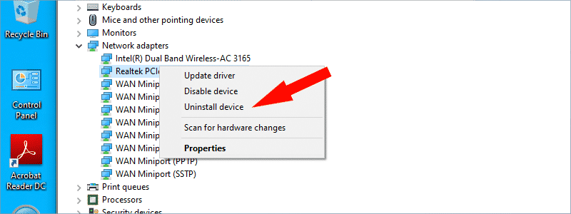 how to uninstall drivers on windows 10 o