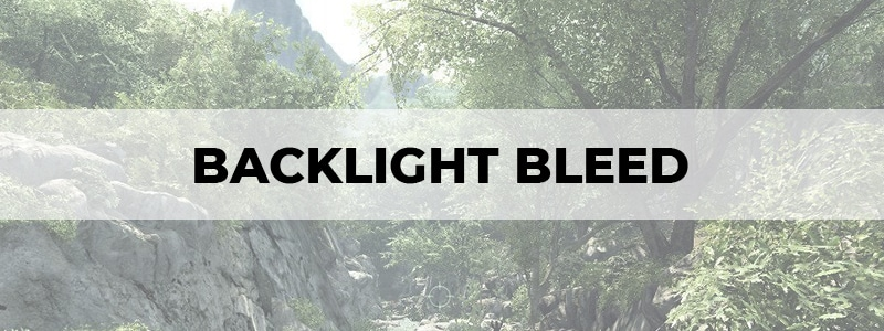 backlight bleed