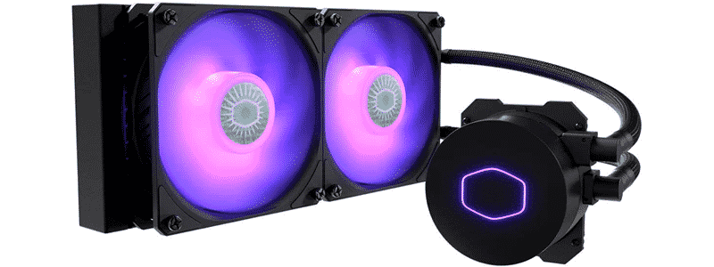 coolermaster masterliquid ml240l rgb v2