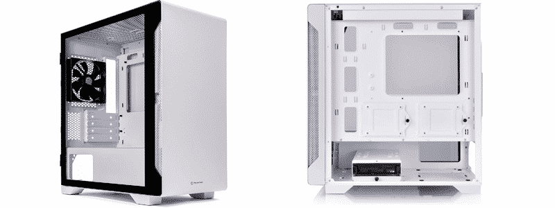 thermaltake s100 tempered glass snow edition