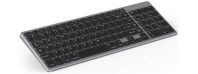 jelly comb wireless slim keyboard