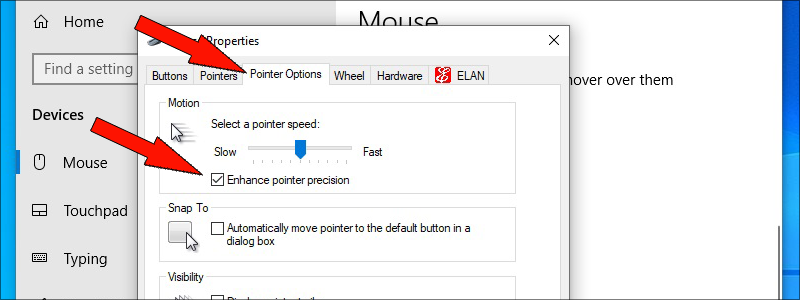 how to check mouse dpi on windows 10 5