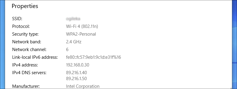 how to find ip address on windows 10 15