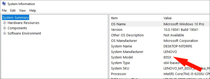how to find out what motherboard i have on windows 10 3