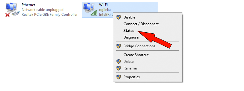 how to find wi-fi password on windows 10 11