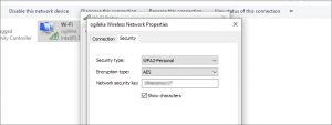 how to find wi-fi password on windows 10 17