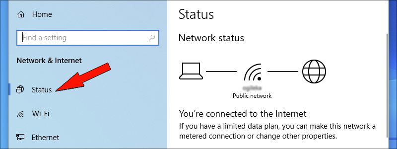 how to find wi-fi password on windows 10 4