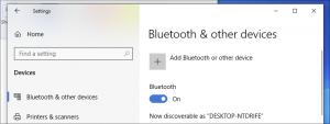 how to turn on bluetooth on windows 10 6