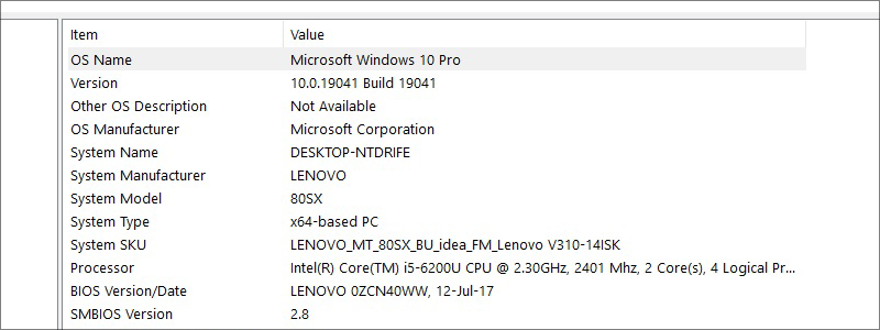 how to find out what motherboard i have on windows 10 35