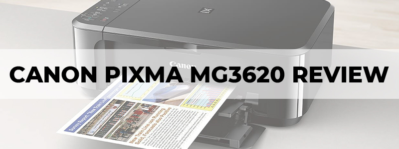 canon pixma mg3620 review