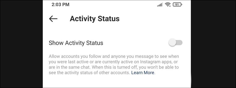how to hide your active status on instagram 8