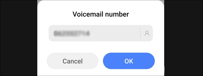 how to set up voicemail on android 9