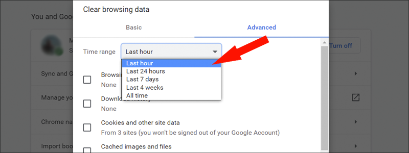 how to turn off uutofill on chrome 26