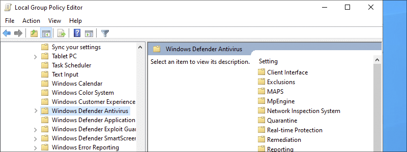 how to disable windows defender 22
