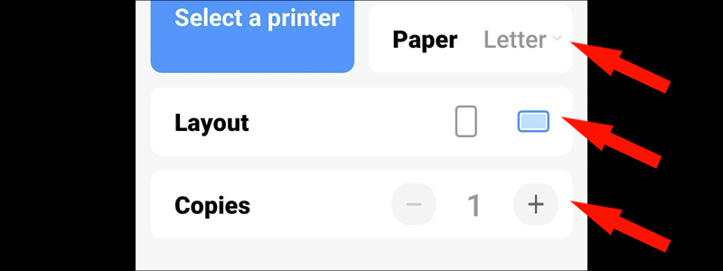 how to print text messages from android 5