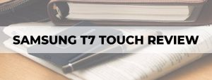 samsung t7 touch portable ssd review