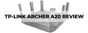 tp-link ac4000 archer a20 review
