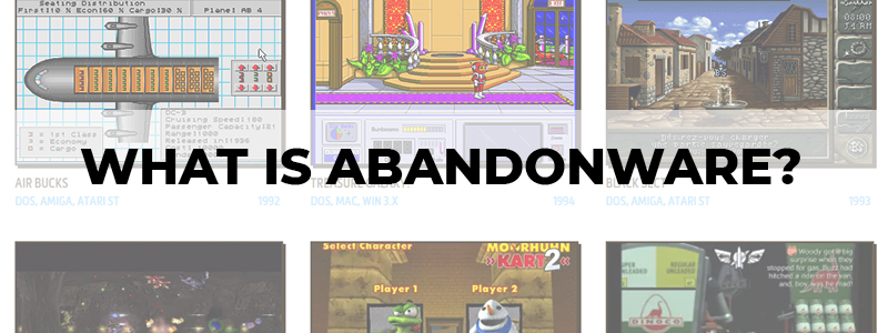 what is abandonware